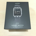 smartwatch-pebble-steel-leather---bekas-murmer