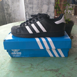 wts-adidas-superstar-foundation-black-white-mint-condition-99-cuma-di-pake-sekali