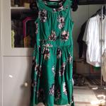 gaun-dorothy-perkins-dress-floral-green