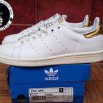 adidas-stansmith-white-gold