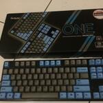mechanical-keyboard-ducky-one-pbt-tkl-blue-black-garansi-panjang