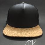 snapback-topi-warna-black---hitam-coklat-model-kayu-spons