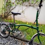 sepeda-bromton-type-m6r-turkish-green-6-speed-bnib-2017