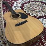 gitar-bekas-merk-cort-ad810-nat-original-mulus-95-bonus-stand