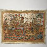 lukisan-wayang-bali-perang-barata-yudha