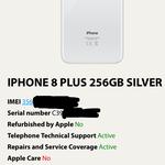 iphone-8-plus-silver-256gb-lock-icloud-disable-fresh