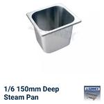 sunnex-1-6-deep-steam-pan-150mm