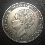 coin-wihelmina-nederland-1919