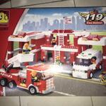 oxford-high-quality-korean-lego---fire-station-fd-3293