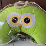 dialogue-baby-nursing-pillow-bantal-menyusui-owl-green-new