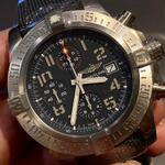 original-bnib-breitling-avenger-bandit-titanium-automatic-chronograph-45mm