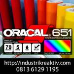 bahan-cutting-sticker-oracal---651-glossy-matt-roll-meteran-1-2-1-4-1-8