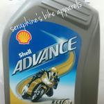 bonus-kanebo-oli-motor-shell-advance-ultra-1l-fully-synthetics--ax7-matic---08l