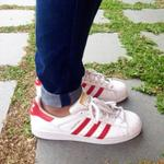 adidas-superstar-white---scarlet--most-iconic-sneaker-all-the-time