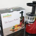 masida-slow-juicer-bla609-red-free-demo