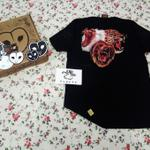 bnwt-dreambirds-artwear-original-primal-v-gold-logo-kotc