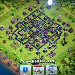 jual-coc-clash-of-clans-th9