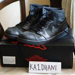 dijual-nike-air-jordan-1-mid-all-black-us-105-eur-445-second-harga-bu