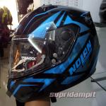 helm-nolan-n64-flazy-metal-black-blue-not-agv-shoei-zeus-shark-bell-airoh-hjc
