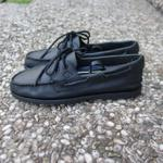 sperry-topsider-all-black-leather-rare