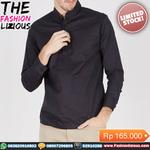 kemeja-pria-kasual-black-milles-long-sleeve-button-collar