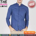 kemeja-pria-kasual-blue-milles-long-sleeve-button-collar