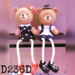 miniatur-pajangan-resin-d236d-bear-couple