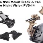 rhino-nvg-mount-black-and-tan---fit-for-night-vision-pvs-14