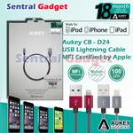 kabel-data-aukey-cb-d24-usb-sync--charging-cable-lightning-iphone-mfi-certified