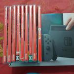 best-console-nintendo-switch-gray-mint-condition-bonus-melimpahhhh
