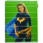 lukisan-alicia-silverstone-as-batgirl-andy-miswandi-paintings