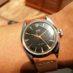original-rare-60s-vintage-rolex-oyster-royal-precision-6426-gold-on-black-dial