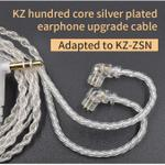 kz-zsn-upgrade-wire-silver-plated-with-35mm-jack-and-2-pin-connector