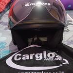 cargloss-yr-ghotic-visor-hardcoat-helm-half-face---deep-black-sg-xl