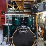 drum-set-mapex-horizon-double-pedal