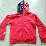 jacket-hoodie-bape-reflector-shark-original---red