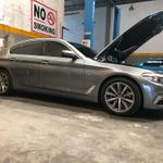 bmw-g30-530i-m-performance-steering--pedal-set-instalation-f10owner-moci-streetcreed