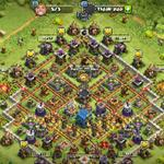 account-clash-of-clans-th-12