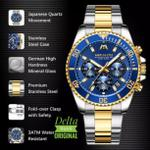 megalith-tomb-chronograph-blue-gold-dial-brand-new