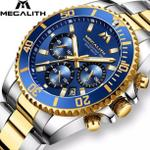 megalith-tomb-chronograph-8046-blue-gold-dial-brand-new-original
