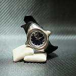 original-jam-tangan-oakley-crush-stainless-steel-blue-dial-rare-item