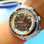 original-60s-enicar-sherpa-gmt-world-time-short-lugs-tropical-dial-rolex-omega-heuer