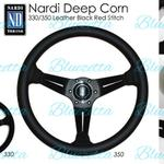 nardi-deep-corn-black-spoke-leather-original-made-in-italy-ori-itali