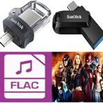sandisk-dual-drive-usb-otg-micro-type-c-32gb-64gb-128gb--flac-tv-series-anime-film