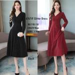 baju-dress-scuba-import-glitter-6767-wanita