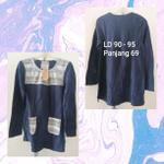navy-sweater-import-import-bahan-wool-size-l