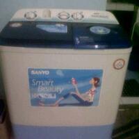 dijual-mesin-cuci-2nd-bekas-merk-sanyo-murahh