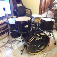 jual-drum-fullset-pearl-ex-plus-snare-pearl-soprano