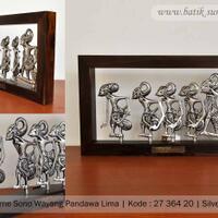 frame-sono-pandawa-lima---bahan-silver-plated