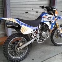 motor-trail-hyosung-rx-125-tahun-2007